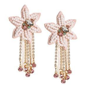 Rebecca Minkoff Calla Floral Statement Earrings